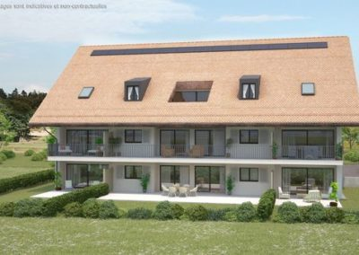 Construction immeuble PPE – Bournens
