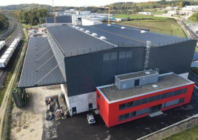 Construction d'un centre de tris des matériaux – Vufflens